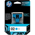 HP 02 (C8771WN) Cyan Original Ink Cartridge (400 Yield)