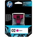 HP 02 (C8772WN) Magenta Original Ink Cartridge (370 Yield)