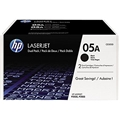 HP 05A Black 2-pack Original LaserJet Toner Cartridges (4,600 Yield)