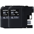 Brother (LC103BK) High Yield Black Ink Cartridge Dual Pack (2 x 600 Yield)