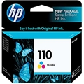 "HP 110 (CB304AN) Tri-Color Original Ink Cartridge (55 Yield - 4"" x 6"" Prints)"