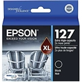 Epson (127) DURABrite Ultra Extra High Capacity Black Ink Cartridge (945 Yield)