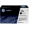 HP 15X (C7115X) Black LaserJet Toner Cartridge (3,500 Yield)