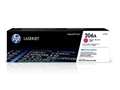 HP 206A Magenta Original LaserJet Toner Cartridge, W2113A