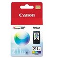 Canon (CL-211XL) Extra Large Capacity Color Ink Cartridge