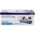 Brother (TN225C) High Yield Cyan Toner Cartridge (2,200 Yield)
