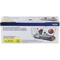 Brother (TN225Y) High Yield Yellow Toner Cartridge (2,200 Yield)