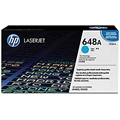 HP 648A (CE261A) Cyan Original LaserJet Toner Cartridge (11,000 Yield)