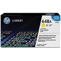 HP 648A (CE262A) Yellow Original LaserJet Toner Cartridge (11,000 Yield)