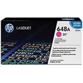HP 648A (CE263A) Magenta Original LaserJet Toner Cartridge (11,000 Yield)