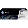 HP 305A (CE410A) Black Original LaserJet Toner Cartridge (2,200 Yield)