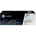 HP 305A (CE411A) Cyan Original LaserJet Toner Cartridge (2,600 Yield)