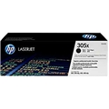 HP 305X (CE410X) Black Original LaserJet Toner Cartridge (4,000 Yield)