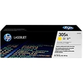 HP 305A (CE412A) Yellow Original LaserJet Toner Cartridge (2,600 Yield)