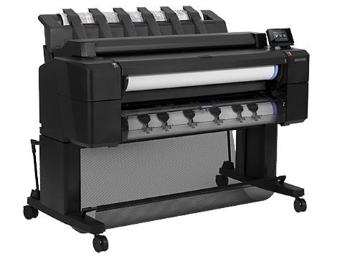 HP Designjet T2500 36-in (914-mm) PostScript eMultifunction Printer specifications - CR359A