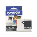 Brother (LC51BK) Black Ink Cartridge (500 Yield)