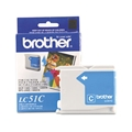 Brother (LC51C) Cyan Ink Cartridge (400 Yield)