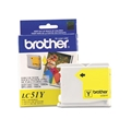Brother (LC51Y) Yellow Ink Cartridge (400 Yield)