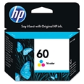 HP 60 (CC643WN) Tri-Color Original Ink Cartridge (165 Yield)