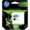HP 60XL (CC641WN) High Yield Black Original Ink Cartridge (600 Yield)