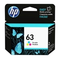 HP 63 (F6U61AN) Tri-color Original Ink Cartridge (165 Yield)