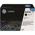 HP 642A (CB400A) Black Original LaserJet Toner Cartridge (7,500 Yield)