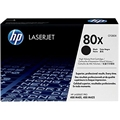 HP 80X (CF280X) Black Original LaserJet Toner Cartridge (6,900 Yield)