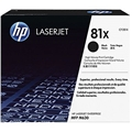HP 81X (CF281X) Black Original LaserJet Toner Cartridge (25,000 Yield)