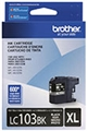 Brother (LC103BK) High Yield Black Ink Cartridge (600 Yield)