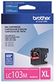 Brother (LC103M) High Yield Magenta Ink Cartridge (600 Yield)