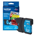 Brother (LC65HYC) High Yield Cyan Ink Cartridge (750 Yield)