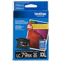 Brother (LC79BK) Super High Yield Black Ink Cartridge (2,400 Yield)