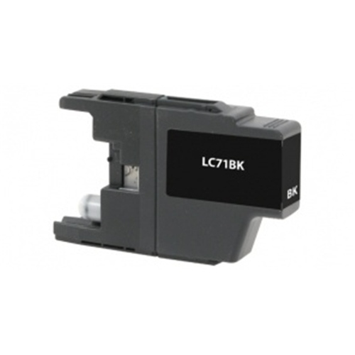 Compatible Brother (LC71BK) Black Ink Cartridge (400 Yield)