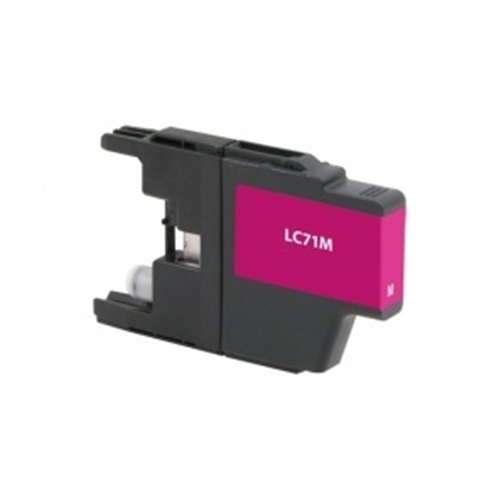 Compatible Brother (LC71M) Magenta Ink Cartridge (300 Yield)