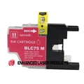 Compatible Brother (LC75M) High Yield Magenta Ink Cartridge (600 Yield)