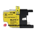 Compatible Brother (LC75Y) High Yield Yellow Ink Cartridge (600 Yield)