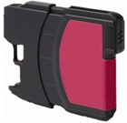 Compatible Brother (LC65HYM) High Yield Magenta Ink Cartridge (750 Yield)