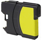 Compatible Brother (LC65HYY) High Yield Yellow Ink Cartridge (750 Yield)