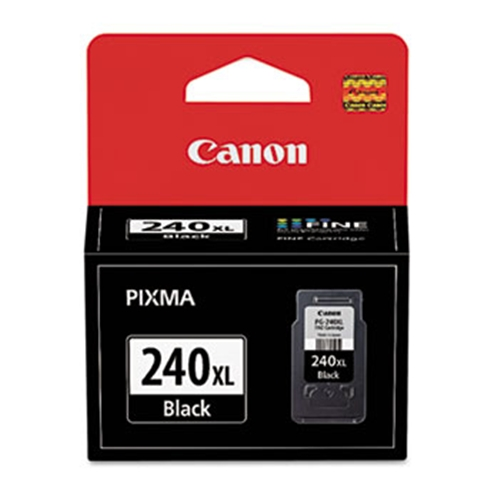Canon (PG-240XL) High Yield Black Ink Cartridge (300 Yield)