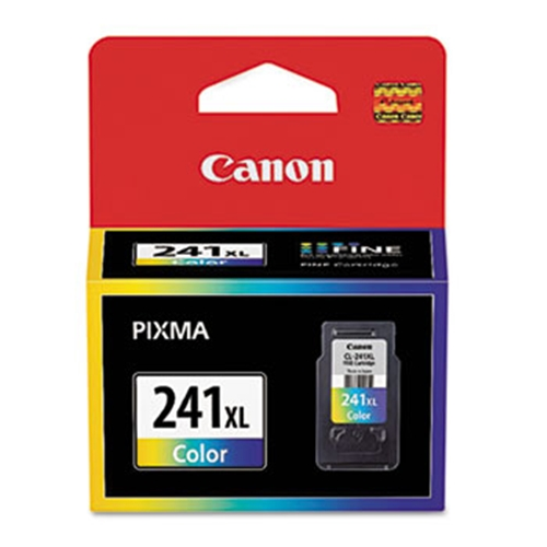 Canon (CL-241XL) High Yield Color Ink Cartridge (400 Yield)
