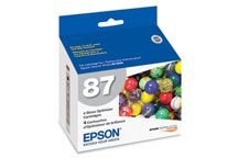 Epson (87) Gloss Optimizer Cartridge 4-Pack (3,615 Yield)