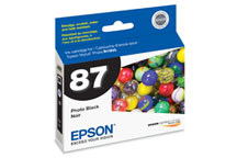 Epson (87) Photo Black Ink Cartridge (5,630 Yield)