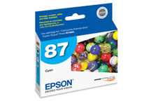 Epson (87) Cyan Ink Cartridge (915 Yield)