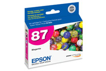 Epson (87) Magenta Ink Cartridge (915 Yield)