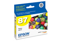 Epson (87) Yellow Ink Cartridge (915 Yield)