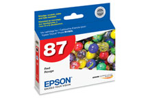 Epson (87) Red Ink Cartridge