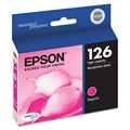 Epson (126) DURABrite Ultra High Capacity Magenta Ink Cartridge (470 Yield)