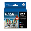 Epson (127) Extra High Capacity Cyan/Magenta/Yellow Ink Cartridge Multipack