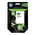 HP 78XL (C6578AN) High Yield Tri-Color Original Ink Cartridge (1,200 Yield)