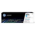 HP 202A (CF501A) Cyan Original LaserJet Toner Cartridge (1,300 Yield)
